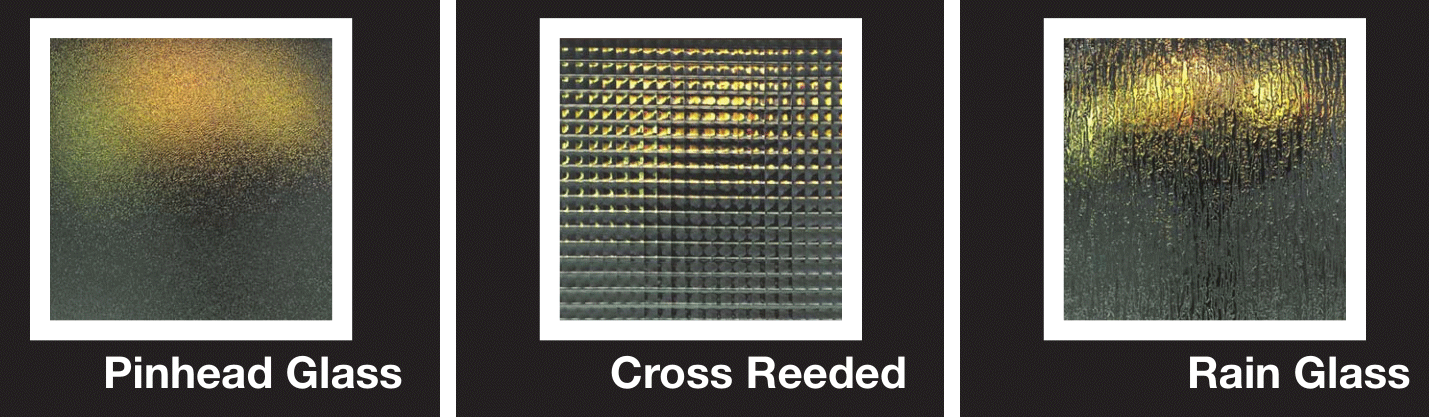 Obscure Glass - Pinhead - Cross Reed - Rain