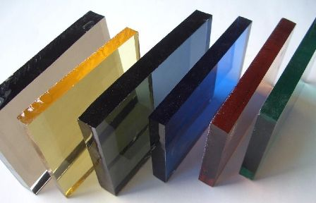 Tinted Glass - Grey - Green - Bronze - Blue